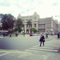 Photo taken at Palacio de Justicia de la Nación by Caio N. on 10/23/2012