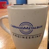 Photo taken at CarnaudMetalbox Engineering Ltd. by Richard B. on 12/30/2015