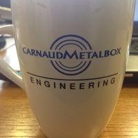 Photo taken at CarnaudMetalbox Engineering Ltd. by Richard B. on 2/26/2016
