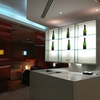 "Photo taken at Alitalia Lounge ""Giotto"" by Christos V. on 1/14/2013"