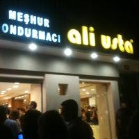 Photo taken at Meşhur Dondurmacı Ali Usta by Özlen on 7/9/2013