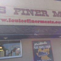 Photo taken at Louie's Finer Meats by Emma Z. on 8/7/2013
