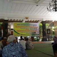 Photo taken at Pendopo Kabupaten by imam r. on 11/2/2014