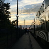 Photo taken at Metra - Barrington by Finbar V. on 8/26/2016