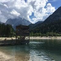 Photo taken at Jezero Jasna by Roland on 7/30/2017