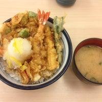 Photo taken at 天丼てんや 新津田沼店 by koro on 8/1/2013