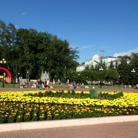 Photo taken at Площадь Юности by Ann A. on 7/11/2013