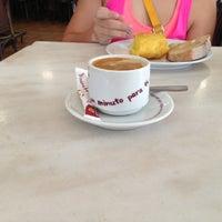 Photo taken at Café Vitoria by Gabriela M. on 7/12/2013