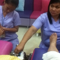 Photo taken at Nails & Lashes Corner by Eunice M. on 3/12/2013