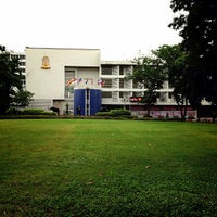 Photo taken at Triamudom Suksa School by Atikom T. on 6/23/2013