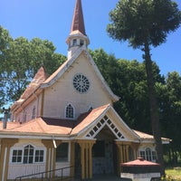 Photo taken at Santuario Virgen del Tránsito by Adrián L. on 1/6/2017