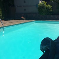 Photo taken at Morgan's piscina by Jenny R. on 7/1/2014