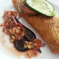 Photo taken at David Bann Vegetarian Restaurant by Nic on 7/14/2013