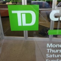 Photo taken at TD Canada Trust (17th and 37th) by Chrissy S. on 9/30/2013