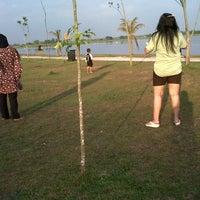 Photo taken at Jakabaring Aquatic Stadium by Dara M. on 6/24/2013