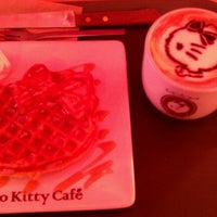 Photo taken at Hello Kitty Cafe by Safina S. on 3/21/2013