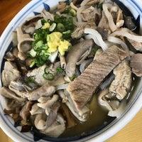 Photo taken at 沖縄の味 アワセそば食堂 by ele_e_carioca on 11/3/2016