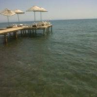 6/25/2013 tarihinde Ece Melisa Y.ziyaretçi tarafından Küçükkuyu Sahili'de çekilen fotoğraf