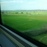 Photo taken at Frecciarossa 9654 Roma-Torino by Gelmina K. on 3/10/2014