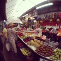 Photo taken at Mercado do Bolhão by Christoph B. on 7/8/2013