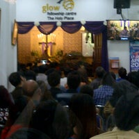 Photo taken at GBI Glow Fellowship Centre by Velix A. on 4/6/2014