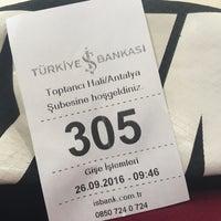 Photo taken at Türkiye İş Bankası by Evren S. on 9/26/2016
