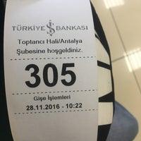 Photo taken at Türkiye İş Bankası by Evren S. on 11/28/2016