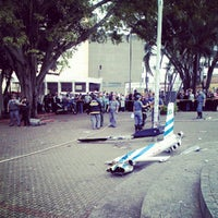 Photo taken at Praça Da Bíblia by Vereda E. on 10/4/2013