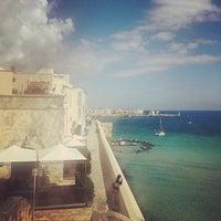Photo taken at Porto di Otranto by Elisabetta C. on 5/31/2014