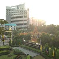 Photo taken at King Mongkut's University of Technology Thonburi (KMUTT) by Aom G. on 1/4/2013