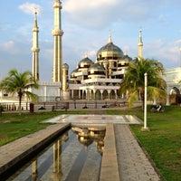 Photo taken at Masjid Kristal by radzi johari on 5/14/2013
