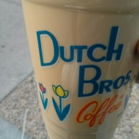 Photo taken at Dutch Bros. Coffee by Radhika A. on 3/14/2014