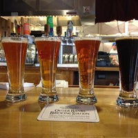 Photo taken at Outer Banks Brewing Station by Scott K. on 12/2/2012