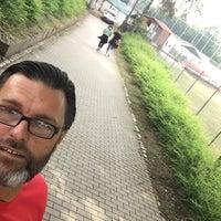 Das Foto wurde bei Baseballfield Stuttgart Reds von Roberto P. am 6/8/2018 aufgenommen