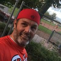 Das Foto wurde bei Baseballfield Stuttgart Reds von Roberto P. am 10/1/2018 aufgenommen