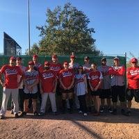 Das Foto wurde bei Baseballfield Stuttgart Reds von Roberto P. am 10/14/2018 aufgenommen