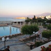 Photo taken at Creta Maris Beach Resort by Petra V. on 7/31/2013