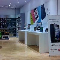 Photo taken at EMAX Apple Store by Rama N. on 12/1/2013