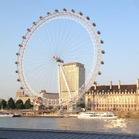 Photo taken at The London Eye by Edmund M. on 7/9/2013