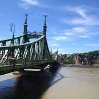 Photo taken at Liberty Bridge by Edmund M. on 6/13/2013