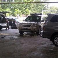 Photo taken at Bima Sakti Car Wash by Ario P. on 4/6/2014