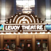 Photo taken at Levoy Theatre by Adam R. on 4/7/2017