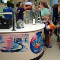 Photo taken at Dippin' Dots by Chris T. on 8/25/2013