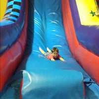 Photo taken at Pump It Up by Megan E. on 7/13/2014