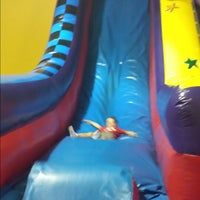 Photo taken at Pump It Up by Megan E. on 6/22/2014