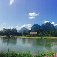 Photo taken at Thavonsouk Resort and Hotel Vientiane by Richard C. on 12/6/2015