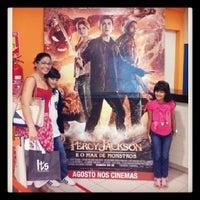 Photo taken at Cinema shopping costa dourada by Mônica N. on 8/25/2013