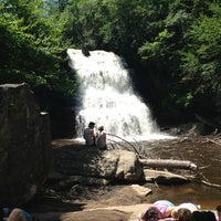 Photo taken at Swallow Falls State Park by kels on 7/16/2013