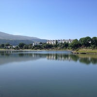 Photo taken at Mooragh Park by simon k. on 7/18/2013
