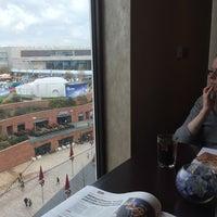 Photo taken at Liverpool Hilton Executive Lounge by simon k. on 11/15/2014